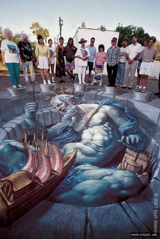 a rhetorical analysis of sidewalk chalk kurt wenners new classicism