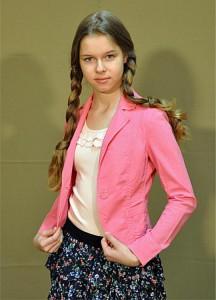 Московская школьница Лена Евсеева — для модниц