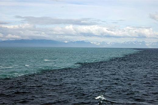Место встречи Балтийского и Северного морей