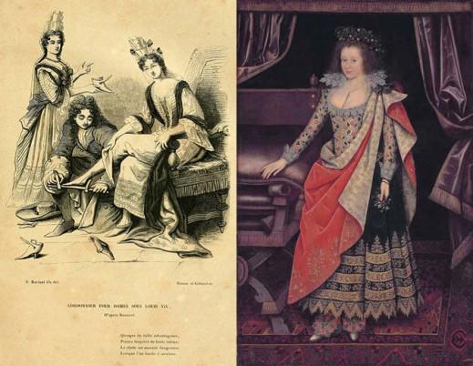 Женские портреты начала XVII века