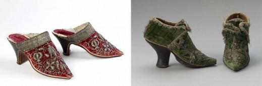 Туфли, сделанные в 1651 году