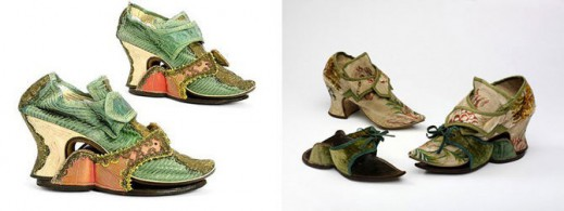 Женские туфли с защитными паттернами
