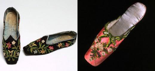 «Предки» современных слиперов, сделанные в Англии, приблизительно 1800-1850 гг