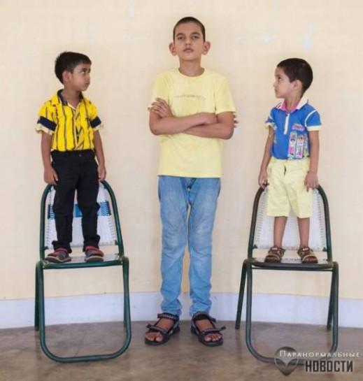 Самый высокий пятилетний мальчик в мире